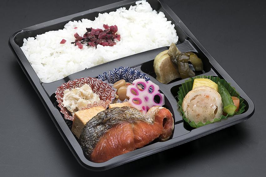 銀鮭焼き幕ノ内弁当 ¥1080